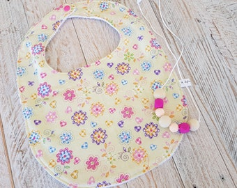 Baby Bib Handmade Baby Newborn Bib Baby Shower Gift Gender Neutral gift
