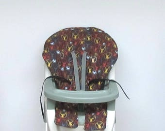 Graco baby accessory high chair cover replacement chair pad, highchair cushion, feeding chair pad, kids ,nursery chair, forest portraits