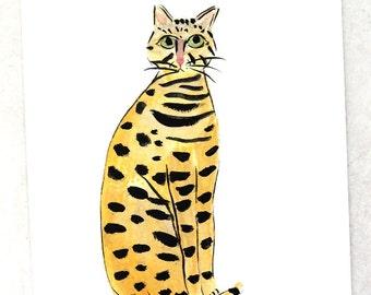 140 Bengel cat - Original