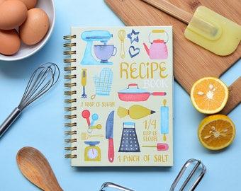 Recipe Book | Recipe Cookbook | Stationery | Cooking | Keepsake | Food | Kitchen