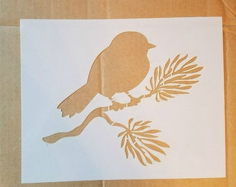 CLEARANCE - Sign Stencil -  8 x 8  Stencil - for painting signs, furniture, walls, all sales final