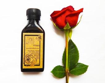Organic Rose Toner - Natural Skin Care