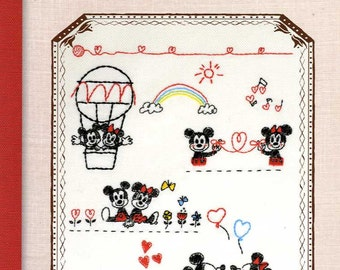 Disney Embroidery Patterns - Japanese Craft Book MM