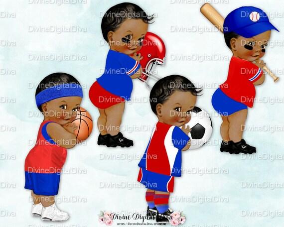 Little Prince Sport Theme Set Baby Boy Red Amp Blue Basketball