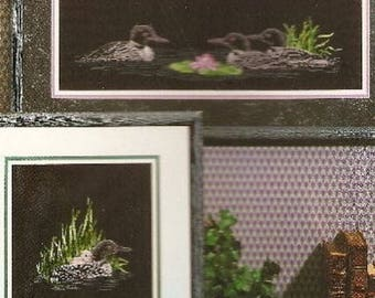 For The Love Of Loons Birds Counted Cross Stitch Chart Pattern