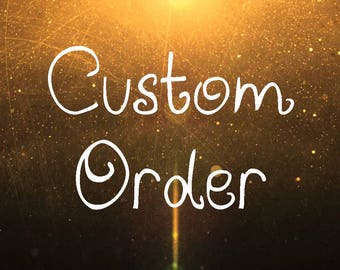 ADD: Personalize your order with a name!!!!