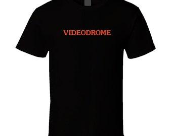 Videodrome Classic Sci Fi Movie T Shirt