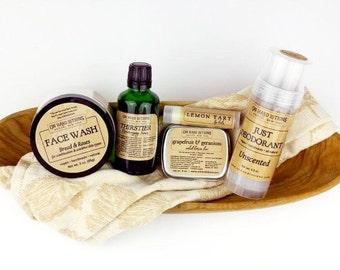 Unscented Deodorant, aluminum free, vegan deodorant stick, plain deodorant, arrowroot deodorant cream, organic deodorant 2.9oz
