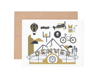 Boxed Cards - Denver Letterpress Greeting Cards - Boxed Set | Blank Cards | All Occassion