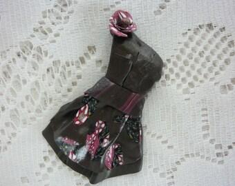 LITTLE GREY LITTLE CREATION FIMO FLOWER DRESS