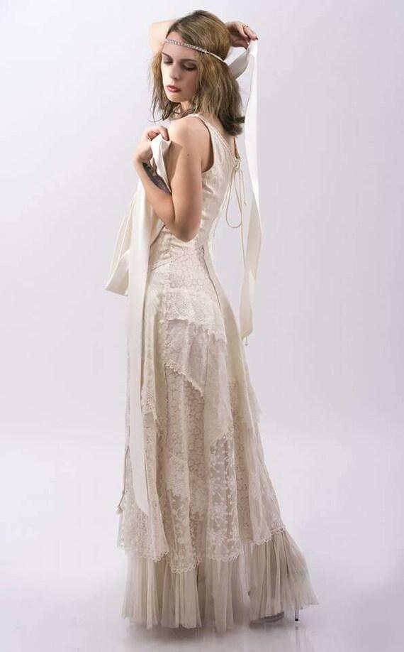 Boho Wedding Dress, Casual Wedding Dress, Simple Wedding Dress, Rustic Wedding  Dress, Backyard Wedding Dress, Hippie Wedding Dress
