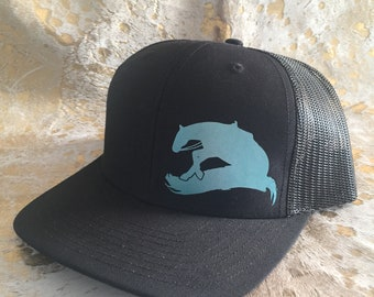 Ready to Ship Discounted Reining Horse Neon Mesh Snapback Hat - Opt 2