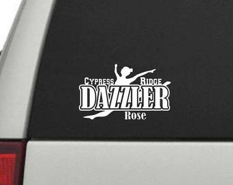 Dazzler Car Decal - Personalized