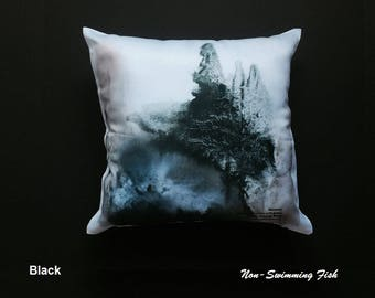 """Abstract Art Pillow Entitled """"Harmony"""""""