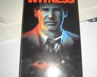 Witness VHS