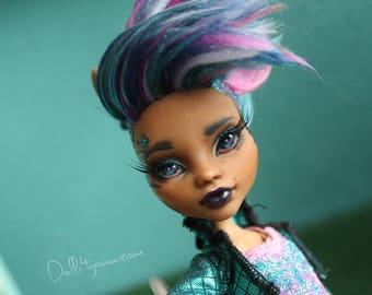 OC Roxy - Custom OOAK Monster high doll repainted