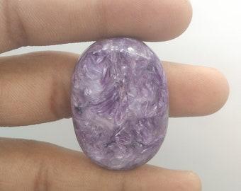 1 Piece Gorgeous Charoite Cabochon Gemstone, Oval  Shape Charoite, Gemstone Design Jewelry Cabochon,Charoite Cabochon, Stone