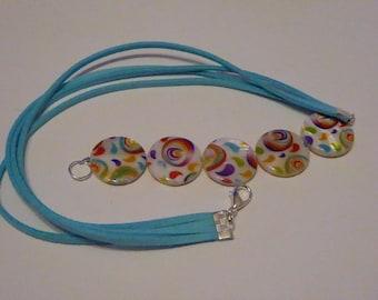 bracelet aux couleurs d'été