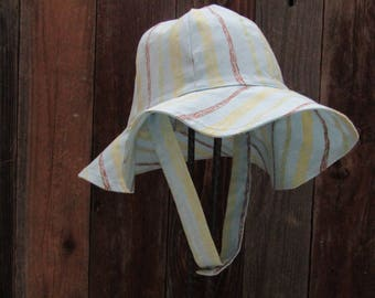 Child Blue Stripe Hat