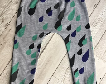 April Showers Rain Drop Leggings