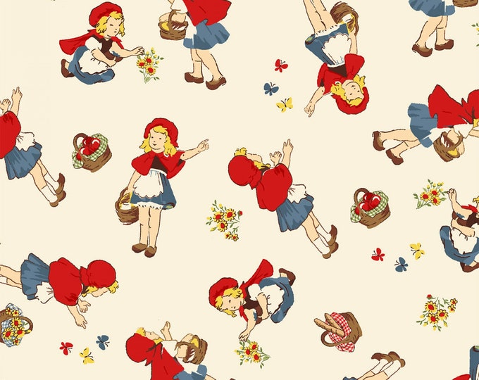 LITTLE RED RIDING Hood, Children's Cotton Fabric by Windham Fabrics 44 inches wide