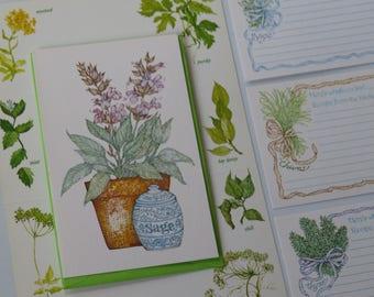 Vintage Current Notes & Recipe Cards ~Craft Lot ~Heirloom Kitchen Smash Book  ~Herbs ~Scrapbooks ~Junk Journals ~Recipe Binder ~Recipe Swap