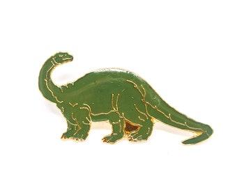 Vintage Brontosaurus Enamel Pin
