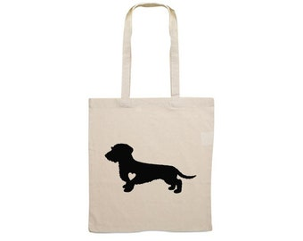 Canvas bag Wire-haired Dachshund - Teckel