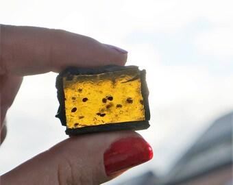Dark Chocolate Covered KIWI Jelly Candy , 15-piece box, 300 g (10.5 oz)