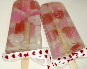 Heartsicle Soap Pop
