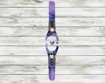 Mistress of Evil Magic Band 1 or 2 Decal | Magic Band Decal | Magic Band Skin | Glitter Magic Band Wrap | RTS Ready To Ship