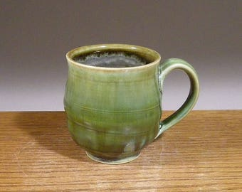 8 ounce, Coffee Mug, Stoneware, Handmade, Pottery Mug, Ceramic Coffee Mug , Beer or Tea
