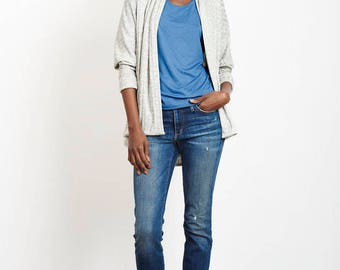 Leah cardigan - oversized cocoon style
