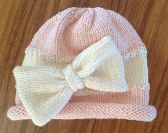 Baby Bow Hat Pattern