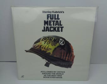 Full Metal Jacket Laserdisc