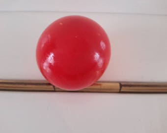 stunning red wooden ball can be used for any DIY