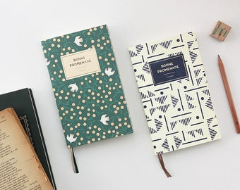 Small  monthly + weekly planner in 6 covers