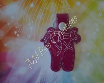 Ballet Slippers keychain