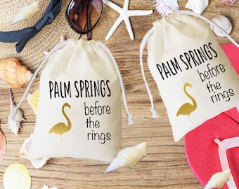 Palm Springs, Bachelorette kit, survival kit, wedding favor, palm springs favor, palm springs wedding, welcome bag, welcome palm springs