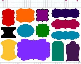 13 Journal Blocks SVG DXF Set