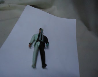 """Vintage 1993 DC Comics Two Face Toy Action Figure 4 3/4"""", collectable"""