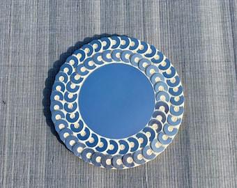Mirror mosaic metal