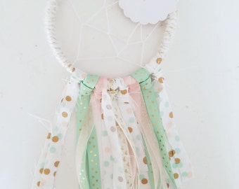 10 dreamcatcher party favors - Mini Reiki infused dreamcatcher party favors- wedding favors- baby shower favors- birthday party favors
