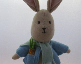 Little felt rabbit