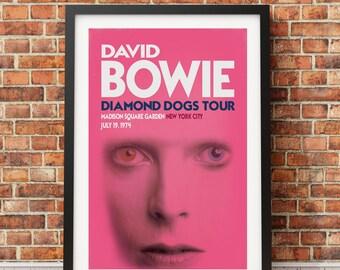Glam Rock Concert Poster