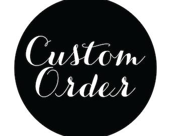 Customer order in shop