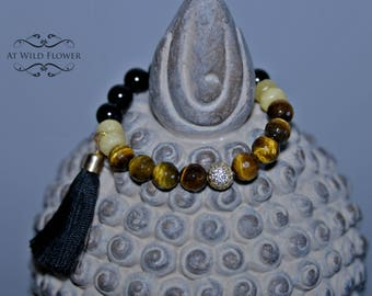 Beaded Bracelet, Tassel Bracelet, Women Bracelet, Statement Bracelet, Fancy Bracelet