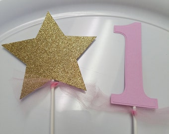 Star Centerpiece, Princess decorations, Princess centerpiece sticks, crown centerpiece sticks, Twinkle little star birthday