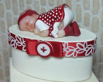 For a baby girl keepsake box