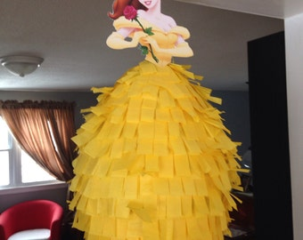 Disney Princess Piñata - Belle Beauty and the Beast